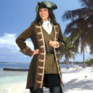 Mary Read Pirate Coat - Medium