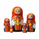 Milkmaid Classical  Doll 5pc. - 6""