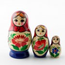 "Nolinsk Babushka Doll 3pc. - 3"""