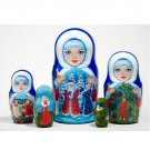 Snow Maiden Fairy Tale Doll 5pc. - 6""