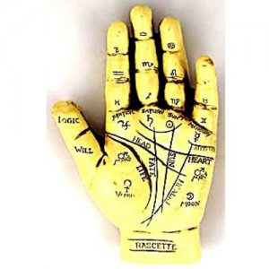 Palmistry Hand Statue