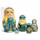 """Irish Nesting Doll 5pc. - 5"""""""