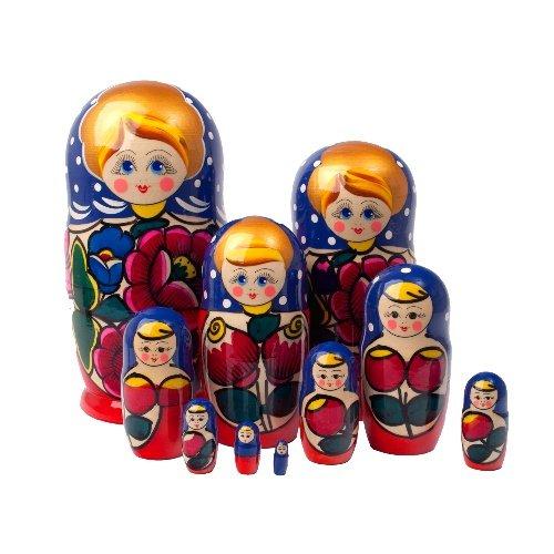 "Polkhovski Maidan Doll 10pc. - 10"""