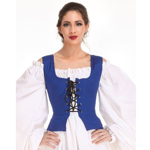 Peasant Bodice � Royal Blue, Small