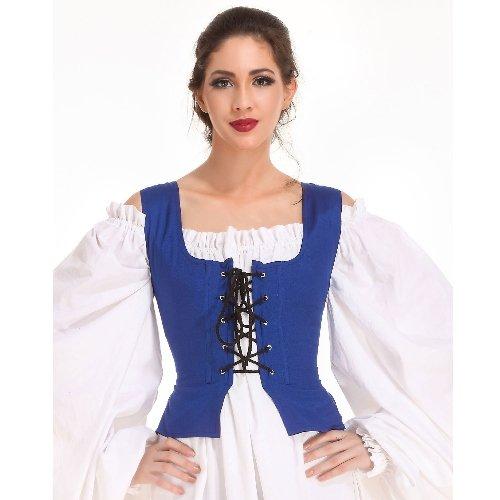 Peasant Bodice � Royal Blue, Large