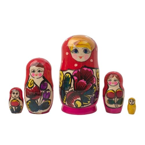 "Polkhovski Maidan Doll 5pc. - 5.5"""