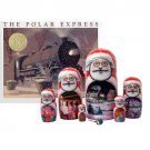 The Polar Express Book and Nesting Doll Set