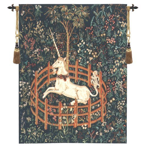 Unicorn In Captivity II C - H 33 x W 25