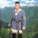 Noble's Cotton Viking Tunic – Blue, XXL