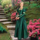 Windsor Gown - Emerald Green, X-Large