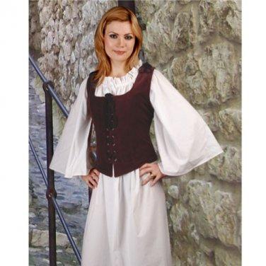 Noble Bodice � Aubergine, Medium
