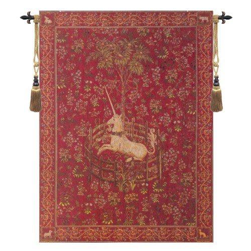 Licorne Captive Rouge - H 58 x W 44