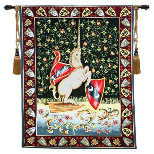 Unicorn Medieval - H 33 x W 26