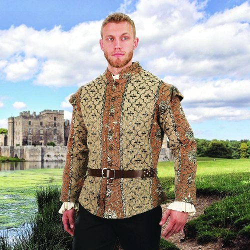 Royal Court Brocade Doublet - X-Large