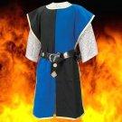 Knightly Tabard – Blue/Black