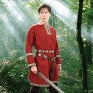 Woolen Viking Tunic – Crimson, L/XL