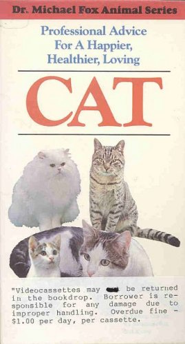 Cat Care Animal Series by Dr Michael Fox Happy Healthy Cats Groom Massage Behavior Illness VHS TAPE