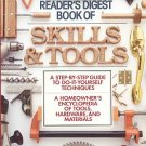 Book Of Skills And Tools by Readers Digest Homeowner Encyclopedia Hardware Materials HC Book