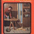 Practical Carpentry by R.J. DeCristoforo Home Repair Remodeling Decks Furniture 1969 HC Book