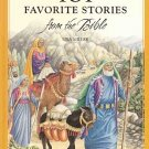 101 Favorite Bible Stories by Ura Miller Ages 9-12 Reading Level Colorful Illustrations HC Book