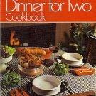 Betty Crocker's Dinner For Two Cook Book Recipes Menus Plan Ahead Vintage 1973 HC Cookbook