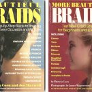 Beautiful Braids And More Beautiful Braids Illustrated by Patricia Coen 2 PB Books