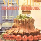 McCall's Company Cookbook Buffet Collection Vintage 1978 SC Cookbook