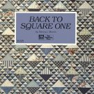 Back to Square One by Nancy J. Martin Patterns Template Free Quilting Craft SC Book