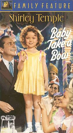 Shirley Temple Baby Take A Bow 1934 Musical Comedy Colorized 1 VHS Tapes
