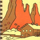 Sedona Arizona Arts Center Souvenir Artwork From 11 Artists Recipes Vintage 1977 SC Cookbook