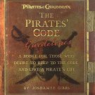 """Pirates of the Caribbean The Pirates """"Code"""" Guidelines by Joshamee Gibbs Disney Edition SC Book"""