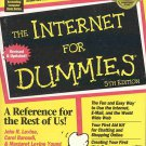 The Internet for Dummies: Fifth Edition Handy Reference SC Book