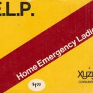H. E. L. P. Home Emergency Ladies Pal by Xyzyx Staff A Woman's Guide To Survival 1972 SC Book