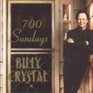 700 Sundays by Billy Crystal Memories One-Man Broadway Show Large Print HC DJ Book