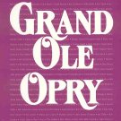 Grand Ole Opry Picture History by Jerry Strobel 143 Country Western Stars Bio Photos 1997 SC Book