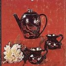 Techniques Of Hobby Ceramics by Bill Thompson Majolica Dresden Design Painting 1977 HCDJ Book