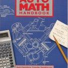 Auto Math Handbook by John Lawlor Automotive Calculations Formulas Equations Theory SC Book