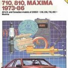 Chilton Datsun Nissan 1973-1986 USA Canadian Maxima Repair Tuneup Manual HC Book