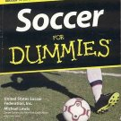 Soccer for Dummies by U.S. Soccer Federation, Michael Lewis Explains Rules, Regulations SC Book
