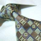 100% silk tie,mixed color check SW1552