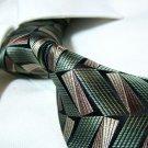 100% silk tie,green SW1453