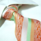 100% silk mixed-color stripe tie SW1388