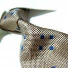 100% silk golden tie SW1825