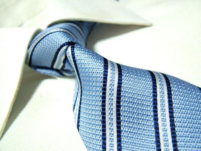 100% silk tie SW1831,blue stripe