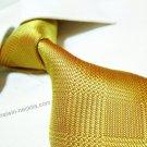 100% silk golden tie SW2008,extra-long