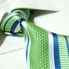 Pierre cardin silk tie SW2100,green stripe