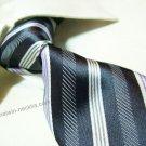 100% silk stripe tie SW2171
