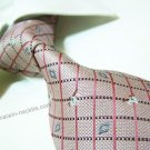 100% silk tie SW2173,pink check