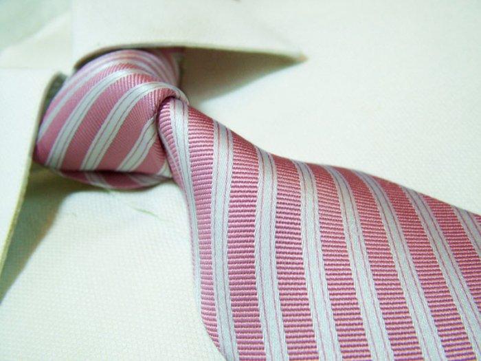 100% silk tie SW2604,pink stripe