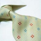 100% silk tie SW2640,yellow check